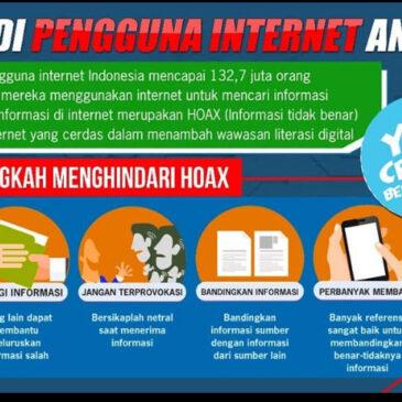 Jadi Pengguna Internet Anti Hoax